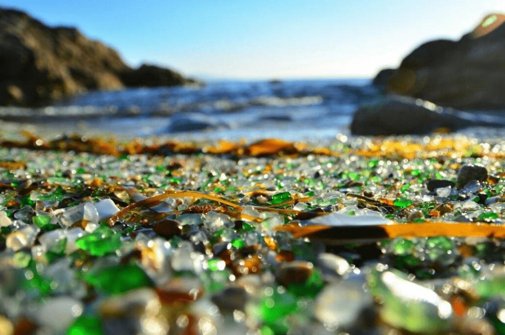 La playa de «los cristales», ¿existe?
