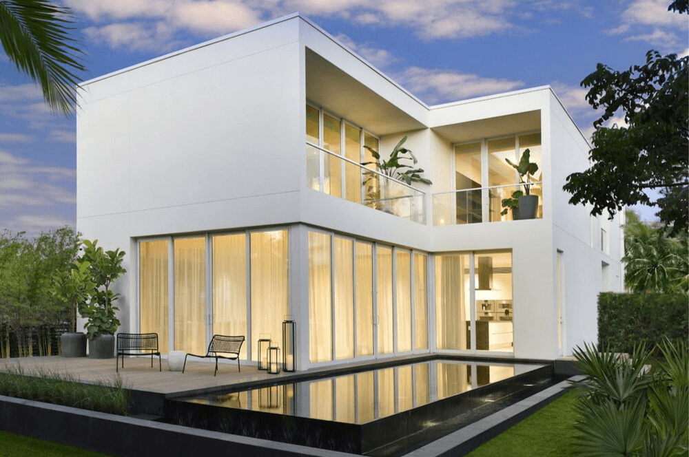 Arquitectura y cristal en Miami