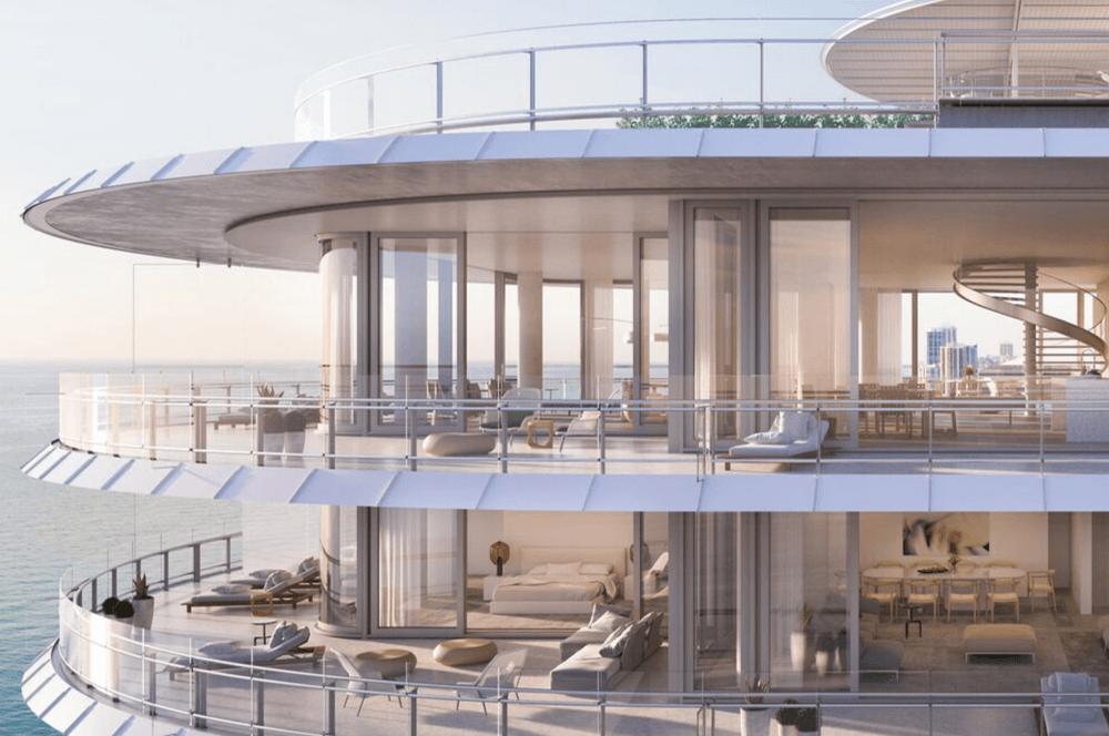 Eighty Seven Park, Arquitectura y cristal en Miami
